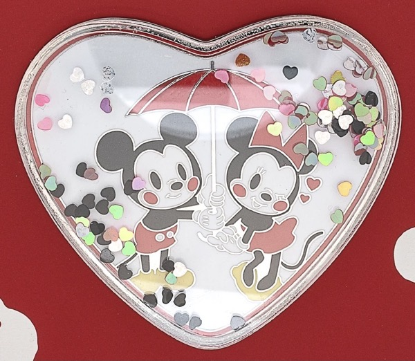 Mickey and Minnie Mouse Love Confetti Limited Edition Pin