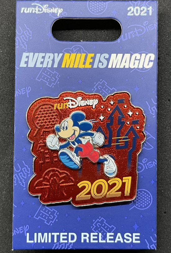 Mickey runDisney 2021 Pin