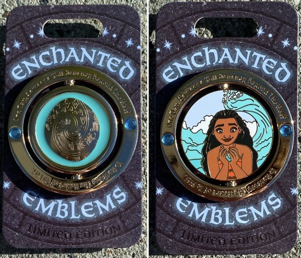 Moana Enchanted Emblem Disney Pin