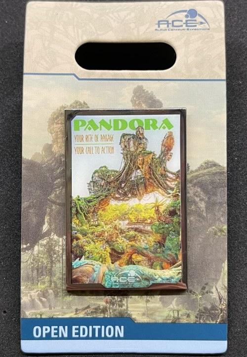 Pandora Poster Disney Pin