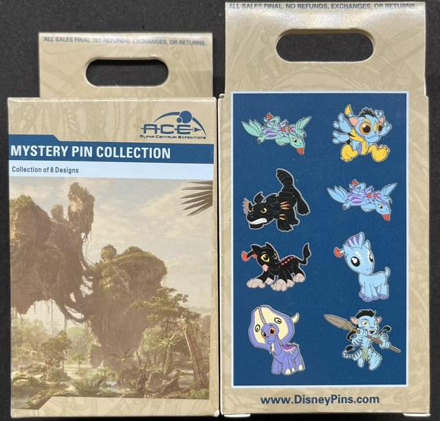 Pandora World of Avatar 2021 Mystery Pin Collection