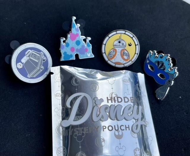 Pins from 2020 Hidden Disney Pouch