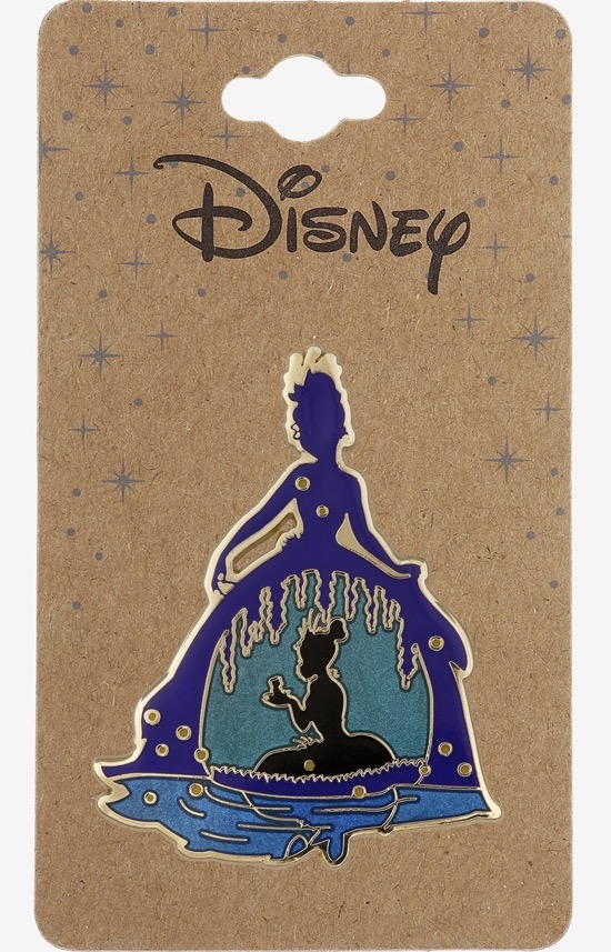 Princess and the Frog Tiana Silhouette BoxLunch Disney Pin
