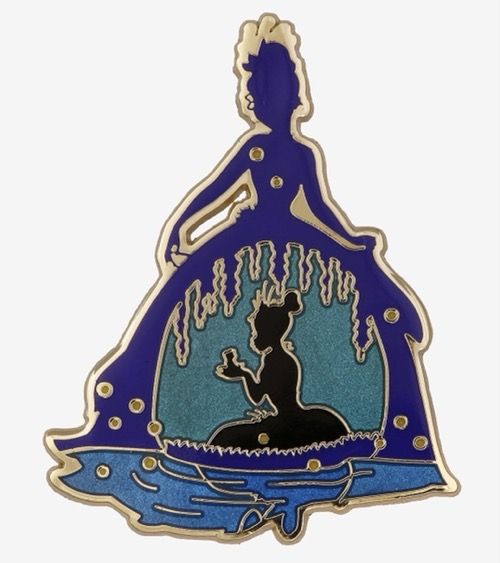 Princess and the Frog Tiana Silhouette BoxLunch Pin
