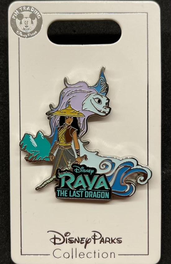 Raya and the Last Dragon Logo Disney Pin