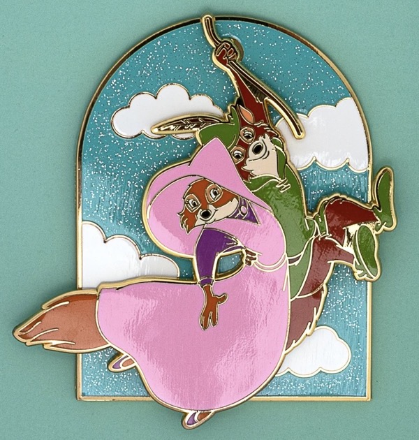 Robin Hood and Maid Marian Limited Edition Loungefly Pin