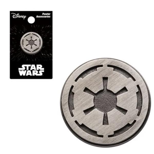 Star Wars Galactic Empire Logo Pewter Lapel Pin
