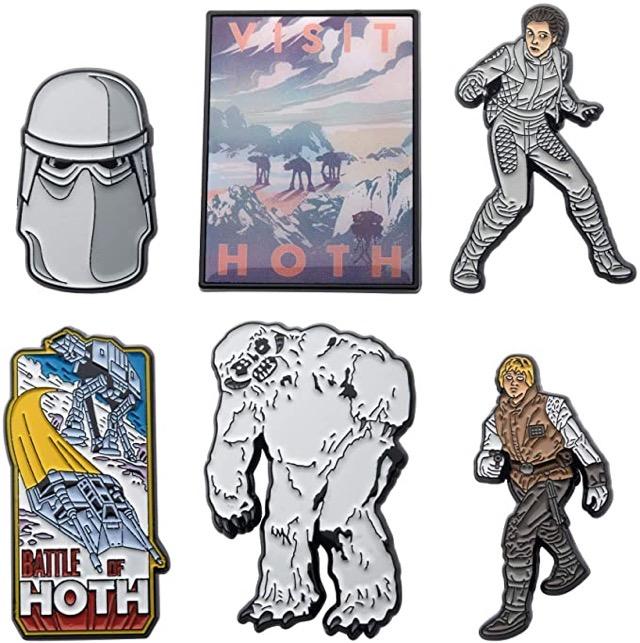 Star Wars Hoth Pin Set at Amazon