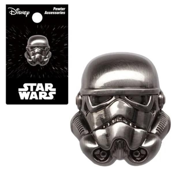 Star Wars Stormtrooper Pewter Lapel Pin