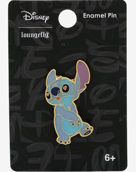 Stitch Heart Eyes Hot Topic Disney Pin