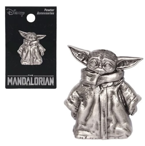 The Child Figural Pewter Lapel Pin