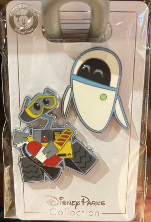 Wall-E & Eve 2021 Disney Pin Set