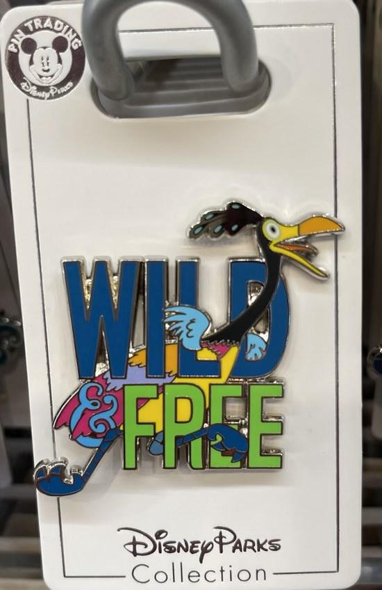 Wild & Free UP Disney Pin