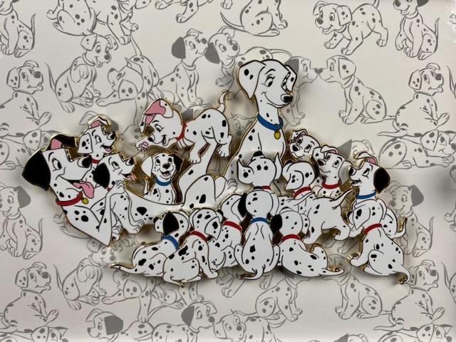101 Dalmatians 60th Anniversary WDI Jumbo Pin