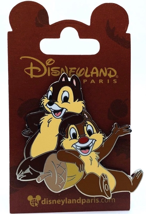 Acorn Chip n Dale Disneyland Paris Pin
