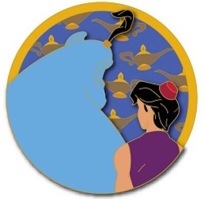 Aladdin - Friendship Disney Pin