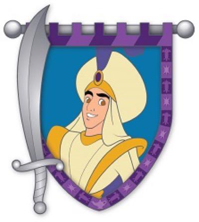 Aladdin - Hero & Sword Disney Pin