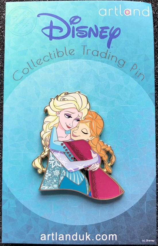 Anna & Elsa Siblings LE 250 ArtLand Disney Pin