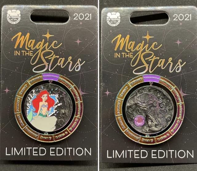 Ariel Magic in the Stars Disney Pin