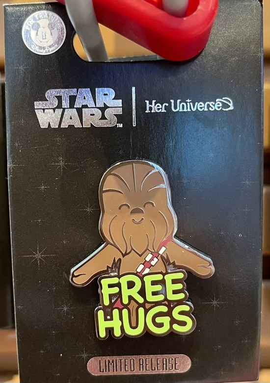 Chewbacca Pin by Her Universe – Star Wars