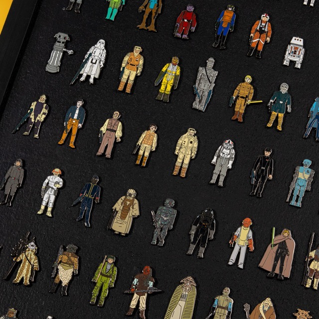 Closer Look at Numskull Star Wars Pin Kings Bundle