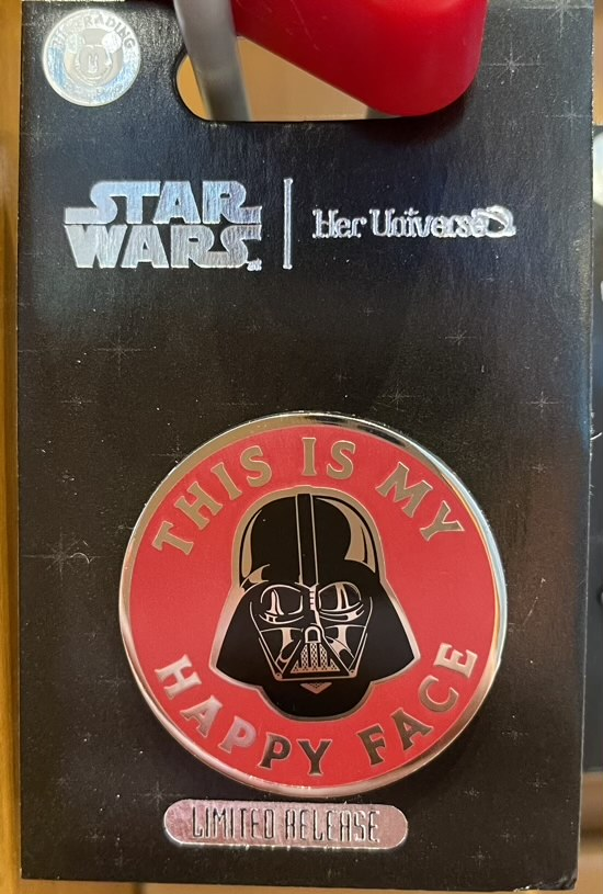 Darth Vader Pin by Her Universe – Star Wars