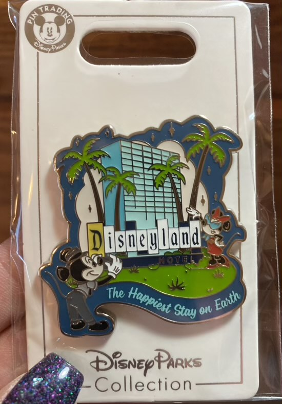 Disneyland Hotel 2021 Pin