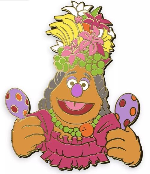 Fozzie Muppet Treasure Island 25th Anniversary D23 Pin - shopDisney