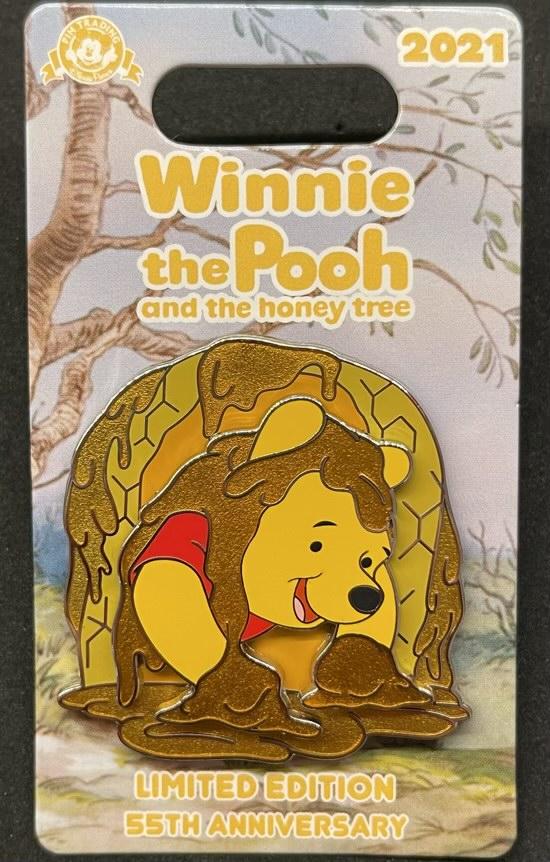 Hunny - Winnie the Pooh 55th Anniversary Disney Pin