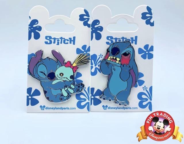 February 2021 Stitch Pin Releases at Disneyland Paris