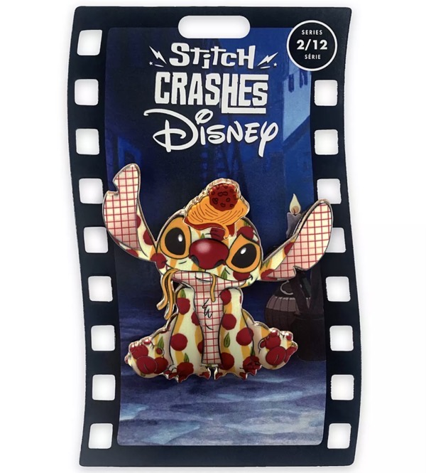 Lady and the Tramp – Stitch Crashes Disney Pin Series 1