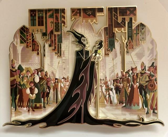 Maleficent LE 100 ArtLand Pin
