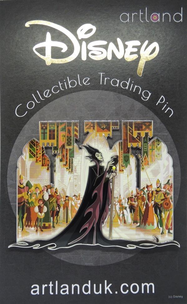 Maleficent by George Caltsoudas ArtLand Pin
