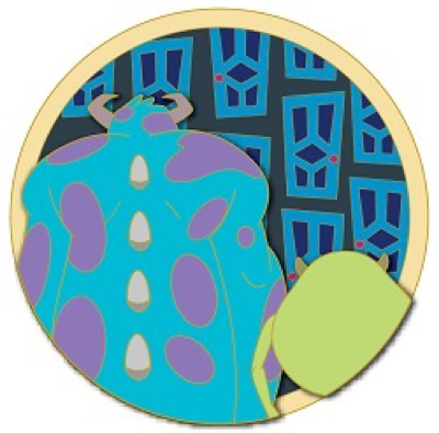 Monsters, Inc. - Friendship Disney Pin