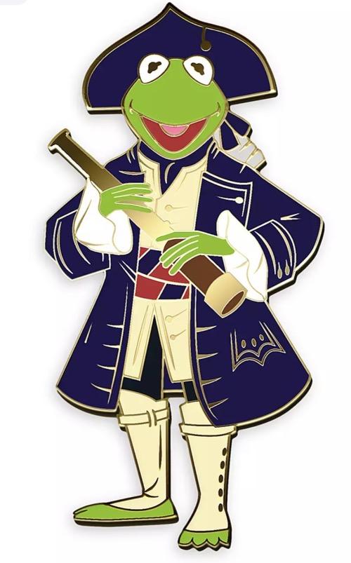 Kermit Muppet Treasure Island 25th Anniversary D23 Pin - shopDisney