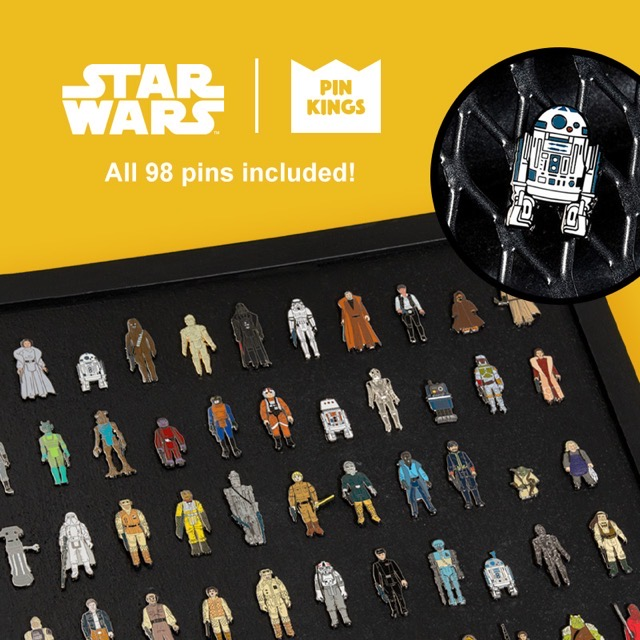 Numskull Star Wars Pin Kings Bundle