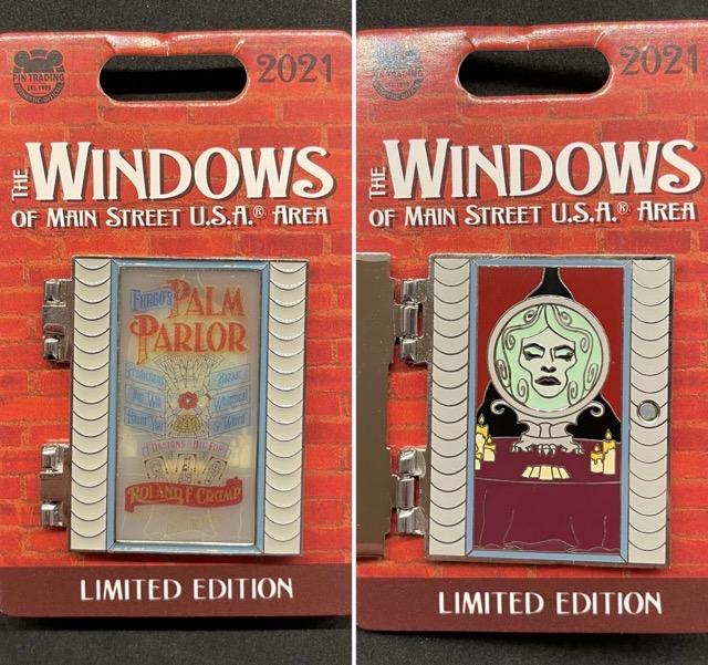 Palm Parlor – Windows of Main Street U.S.A® Area Disney Pin
