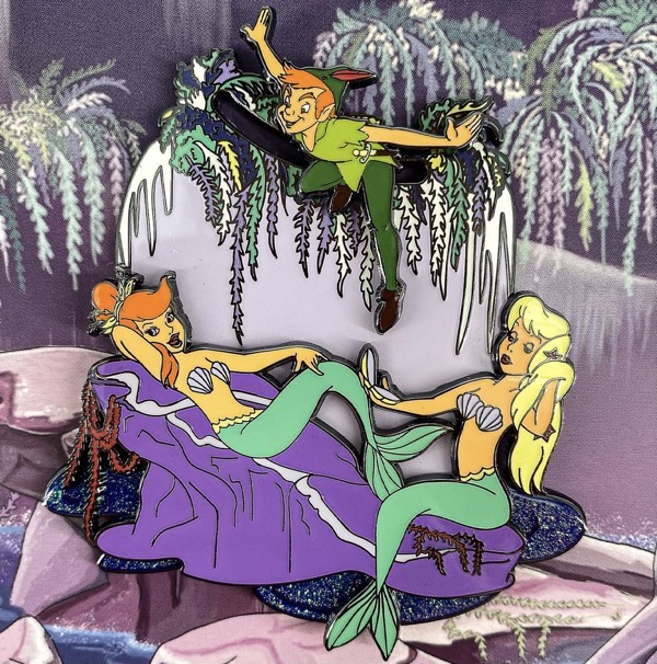 Peter Pan Mermaids Limited Edition Loungefly Pin