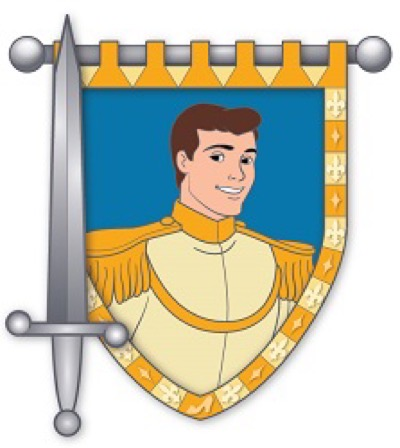 Prince Charming - Hero & Sword Disney Pin