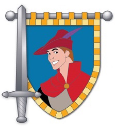 Prince Phillip - Hero & Sword Disney Pin