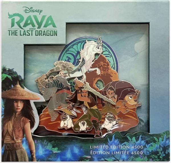 Raya and the Last Dragon Jumbo Pin at shopDisney