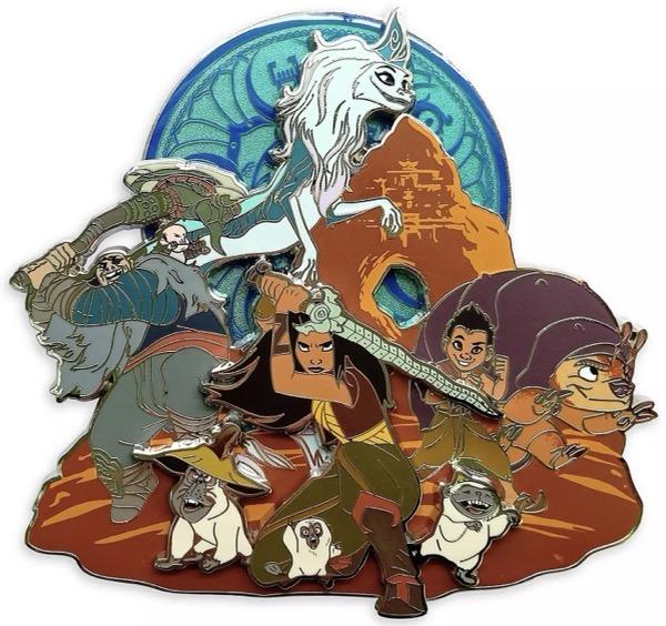 Raya and the Last Dragon Jumbo Pin