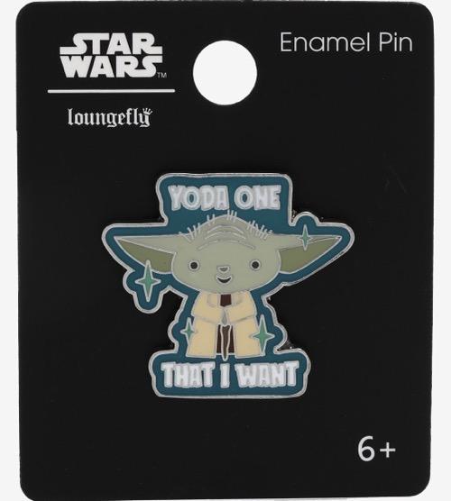 Star Wars Yoda One BoxLunch Pin