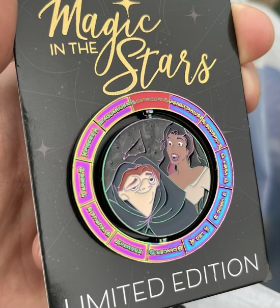 The Hunchback of Notre Dame Magic in the Stars WDW Pin