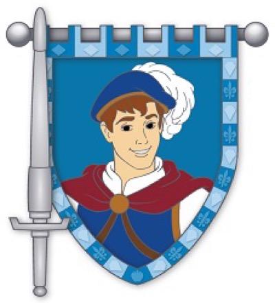 The Prince - Hero & Sword Disney Pin