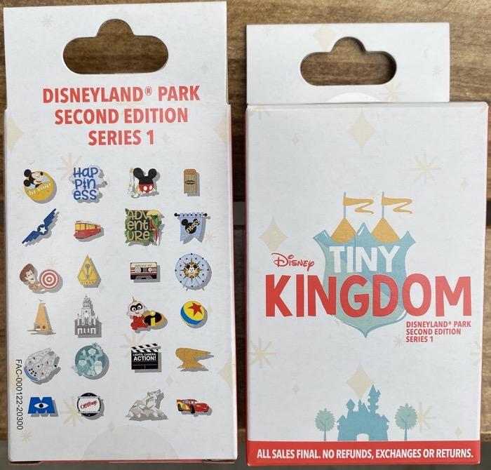 Tiny Kingdom Disneyland Second Edition Series 1 Pin Collection