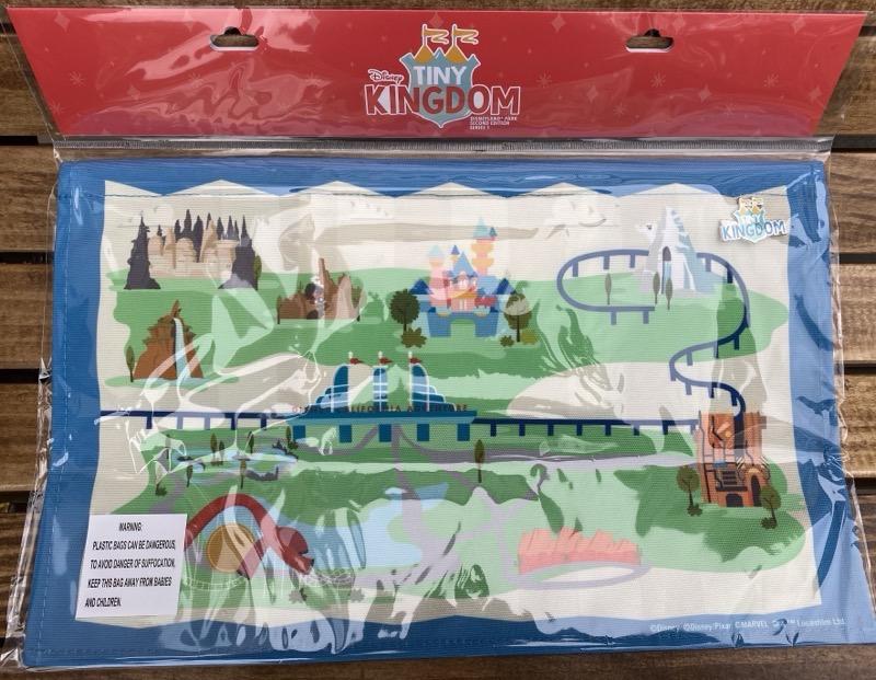 Tiny Kingdom Disneyland Second Edition Series 1 Pin Map