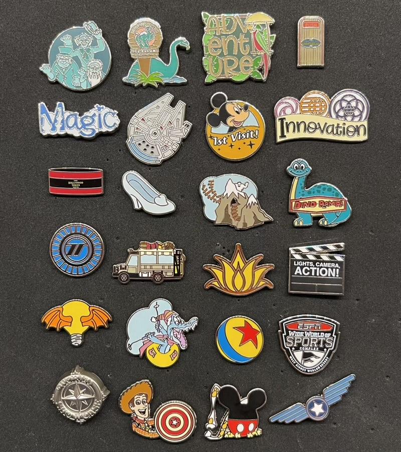 Tiny Kingdom Walt Disney World Second Edition Series 1 Pins