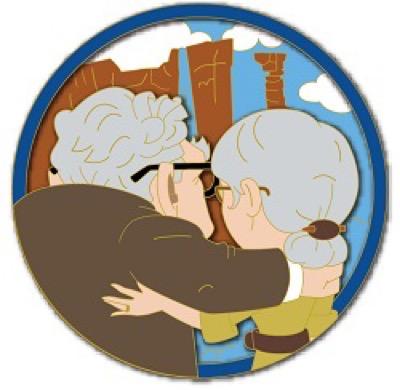 UP - Friendship Disney Pin