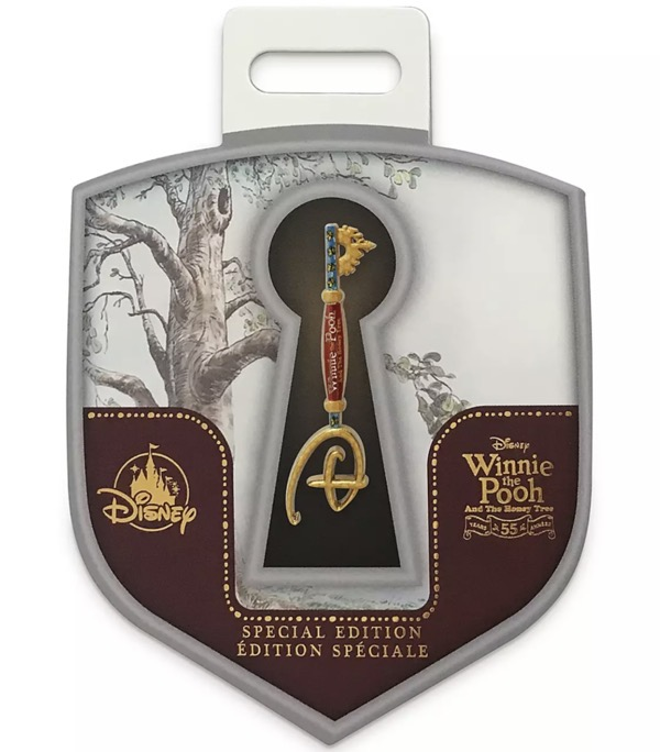 Winnie the Pooh 55th Anniversary Collectible Key Pin